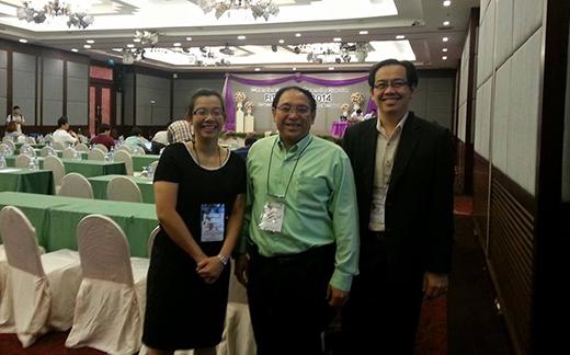 หัวหน้าภาควิชาวิศวกรรมคอมพิวเตอร์ร่วมงาน International Conference FITAT/ISPM 2014