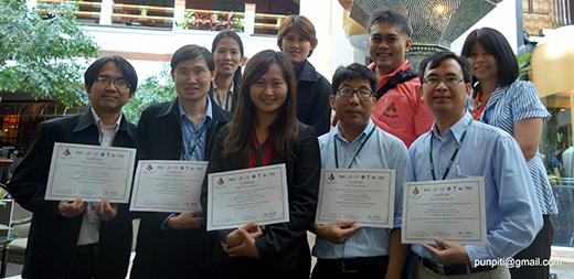 คณาจารย์และนิสิตภาควิชาวิศวกรรมคอมพิวเตอร์ร่วมนำเสนอผลงานใน ICSEC2014