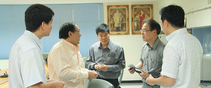 ภาควิชาวิศวกรรมคอมพิวเตอร์หารือการทำงานวิจัยร่วมกับ Nara Institute of Science and Technology