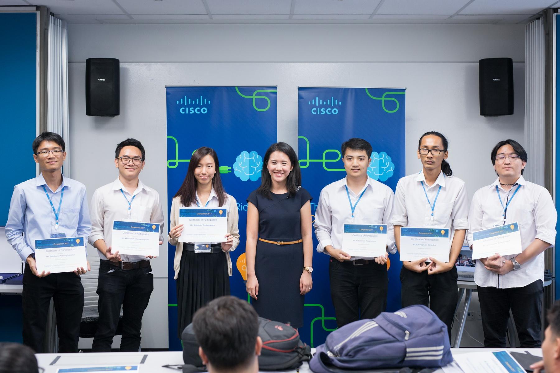 นิสิตวิศวกรรมคอมพิวเตอร์ คว้ารางวัลที่ 1 CCENT competition จากการแข่งขันรายการ Thailand NetRiders 2017